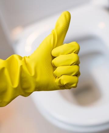 limpieza baño